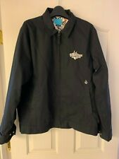 VOLCOM mens M lightweight zippered black jacket coat, early Volcom, hard to find