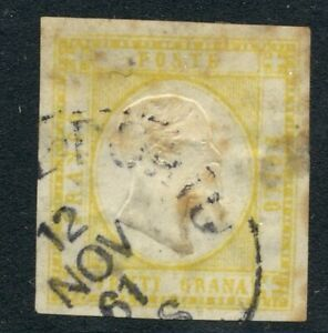 Italia 1861 20Gr GIALLO