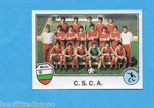 SPORT SUPERSTARS/EURO FOOTBALL 82-PANINI-Figurina n.140- C.S.C.A. TEAM-Rec