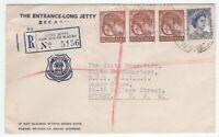 Australia The Entrance Long Jetty registered cover to RSL Sydney 1962