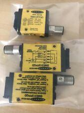 (3) Banner Engineering SM312FPQD Mini Beam Sensor
