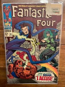 Fantastic Four 65 Silver Age First Appearance Key Comic Book