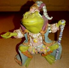 Vintage 1996 Hamilton Collection Camelot Frogs Wizard Of Camelot see condition