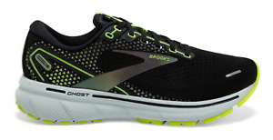Brooks GHOST 14 Run VISIBLE Men's Running Shoes Black /Nightlife Size's 7-15 NIB