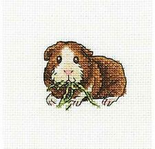 RTO Counted Cross Stitch Kit -Guinea Pig eating greens