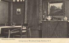 ROXBURY NY – Woodchuck Lodge Living Room – Catskill Mountains