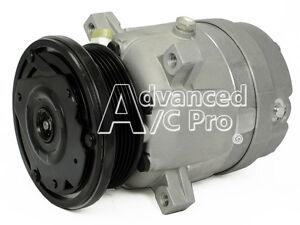A/C Compressor Fits: 1994 - 1997 Chevrolet S10 - GMC Sonoma / 96 Hombre L4 2.2L