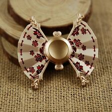 RARE Japanese geisha kimono Style Anime Fidget Spinner Shape Rotation Stress Toy