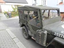willy's Jeep Mb jeepverdeck FORD GPW , COMPLETO winterverdeck con türplanen