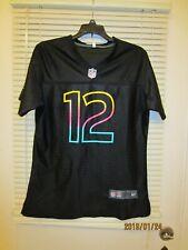 Nike Seattle Seahawks Jersey FAN #12 Black woMens  (XXL) $99