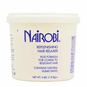 Nairobi Replenishing Hair Relaxer Plus Formula, 4lbs