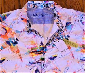 ROBERT GRAHAM AUTHENTIC MENS BRAND NEW CLASSIC FIT DRESS SHIRT TOP Size 4XL, NWT