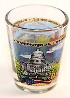 WASHINGTON DC WRAPAROUND SHOT GLASS SHOTGLASS