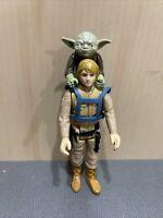 Vintage 1980 Kenner Star Wars ESB Luke Skywalker & Yoda Jedi Training Bundle