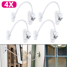 4PCS Window Door Restrictor Child Baby Safety Security Lock Cable Catch Wire UK