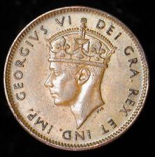 1942 Canada NEWFOUNDLAND Small Cent KM# 18 UNC