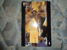 2000-01 LOS ANGELES LAKERS MEDIA GUIDE Yearbook 2001 NBA CHAMPIONS! Program AD