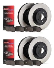 CENTRIC 2004-2008 ACURA TSX FRONT AND REAR REPLACEMENT BRAKE ROTORS AND PADS