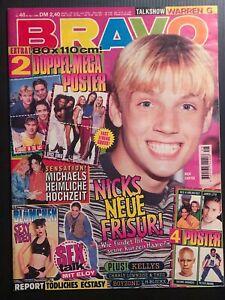 BRAVO 23.11.-29.11.1996 zum 25. Geburtstag MJ Blümchen sexy Ecstasy SPICE XXXL
