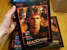 Pressman MacGyver The Escape Room Board Game BRAND NEW FACTORY SEALED