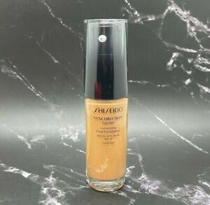 Shiseido Synchro Skin Glow Fluid Foundation SPF 20 - Golden 5 - 1 oz