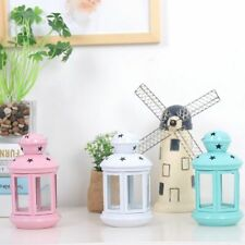 Candle Holder Metal Windproof Outdoor Wedding Home Lantern Decoration Stand Gift