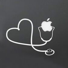 For Macbook Heart Wall Nurse Home Decal Stethoscope Decal Sticker Vinyl Doctor