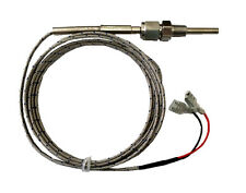 Temp Thermocouple K type, stainless Steel Probe, 2m (6.5ft), teflon sealed