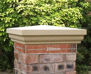 Pier pillar caps 20x20 inches