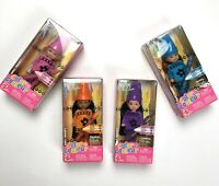 Barbie Kelly Crayon Dolls Lot Of 4 Mattel Walmart Exclusive Vintage 2003 Mint