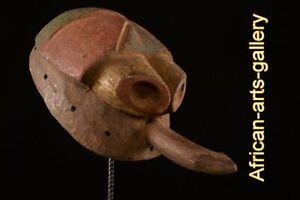 Mumuye Anthropomorphic Mask Nigeria Africa Fes- LCY05
