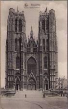 (y0t) Postcard: Bruxelles, Eglise Sainte-Gudule