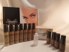 LUMINESS AIR Airbrush Foundation Makeup Shade F2, 5 ml=.16oz SAMPLE Bottle, NEW