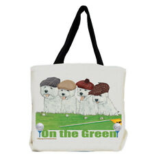 West Highland Terrier Westie Dog On the Green Tote Bag