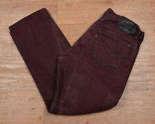 "De colección Levi's 501 Jeans Denim LENGÜETA ROJA-W36"" X L30"" #344 Raro Color"