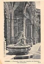 BR45760 Fonte nos claustros do convento dos jeronymos Lisboa portugal