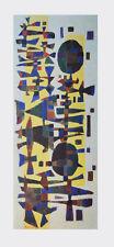 Alfred Manessier Kunstdruck Bild hochwertiger Lichtdruck Fest in Zeeland 92x36cm