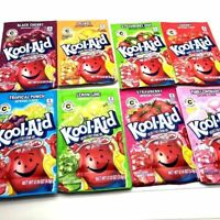 Sachets Kool Aid American Powder Mix Drink 6 Pieces Made in USA