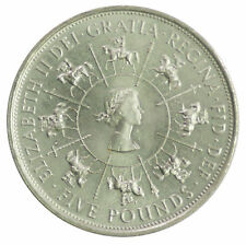 1953-1993 QUEEN ELIZABETH II 40TH ANNIVERSARY OF CORONATION £5 FIVE POUND COIN