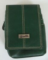 Buxton Genuine Leather Mini Bag, Forest Green