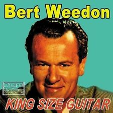 Bert Weedon ~ KING SIZE Guitar CD * VERY GOOD * ORIGINAL RECORDING