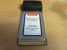 Adaptec FireConnect AFW-1430A 3-Port FireWire IEEE 1394 CardBus Laptop PCMCIA