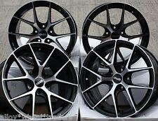 """18"""" Nero M GTO CERCHI IN LEGA ADATTA PER VOLVO C30 C70 S40 S60 S80 V40 V50 V60 V70 XC60"""