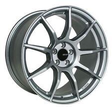 18x8 Enkei TS9 5x108 +45 Platinum Grey Rims Fits Ford Focus Thunderbird