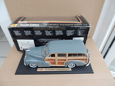 MAISTO 1-18 Chevrolet Fleetmaster Woody 1948 no Minichamps