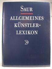 Saur Allgemeines Künstlerlexikon Bd.1/4/7/8/9/11/12/14/15/16/17/18 Reg.11-20 T.1