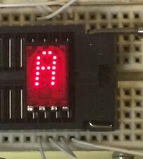 HP 5082-7340 1990-0418 Epoxy Hexidecimal 4x7 Dot Matrix LED Displays