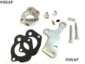 Silver Throttle Body Spacer Fits 96-99 Dodge Neon 2.0L With Power Port