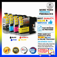 4x NoN-OEM Generic Ink LC133 LC131 for Brother DCP-J152W MFC-J475DW MFC-J650DW