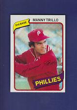 Manny Trillo 1980 TOPPS Baseball #90 (NM+) Philadelphia Phillies